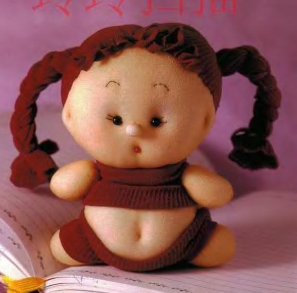 кукла из капрона, кукла повар,